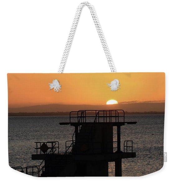 Galway Bay Sunrise Weekender Tote Bag