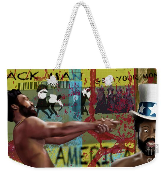 Gambino America Get Your Money Weekender Tote Bag
