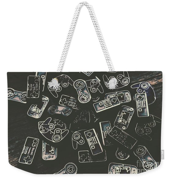 Gamers Of Arcade  Weekender Tote Bag