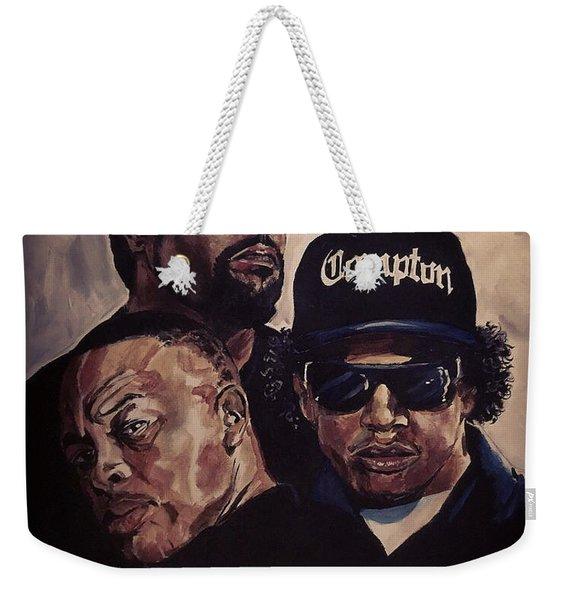 Gangsta Trinity Weekender Tote Bag