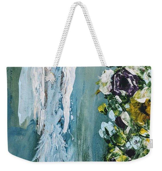 Garden Angel Weekender Tote Bag