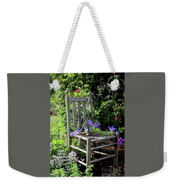 Garden Chair Weekender Tote Bag