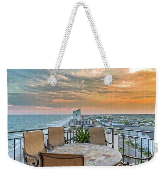 Garden City Beach View Weekender Tote Bag