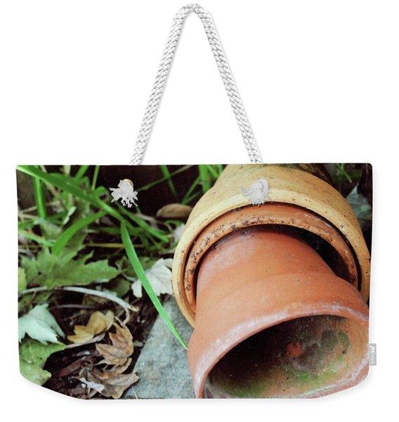 Garden Clay Plant Pots Weekender Tote Bag