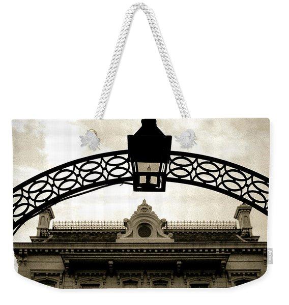 Garden District Lantern Arch Weekender Tote Bag