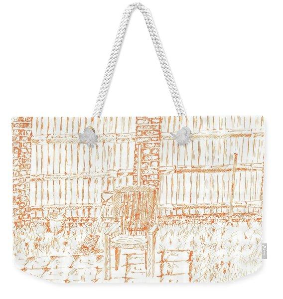 Garden Fence  Weekender Tote Bag