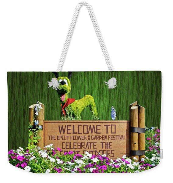 Garden Festival Mp Weekender Tote Bag