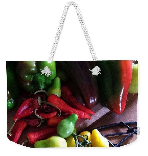 Garden Fresh Produce Weekender Tote Bag