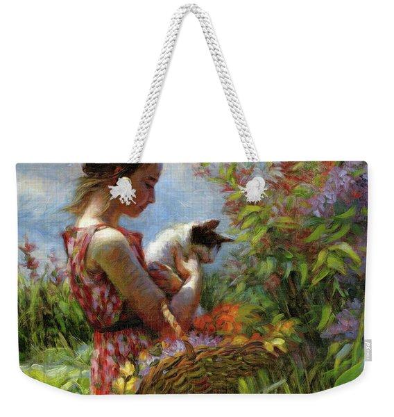 Garden Gatherings Weekender Tote Bag