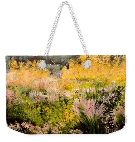 Garden In Northern Light Weekender Tote Bag