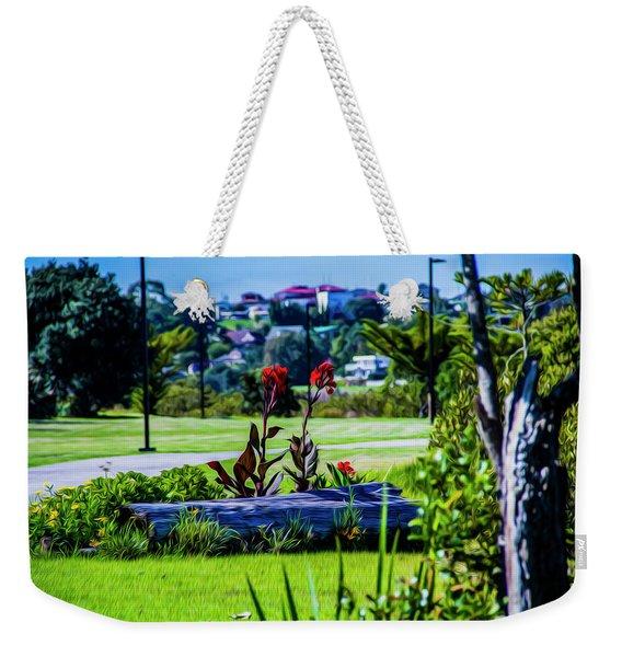 Garden Log Weekender Tote Bag