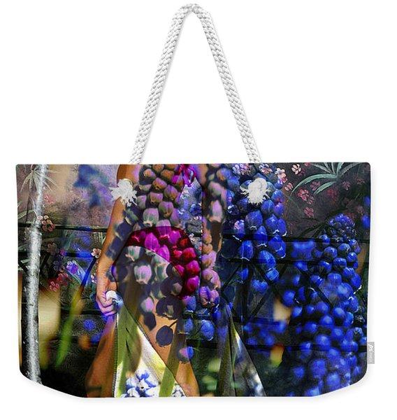 Garden Nymph Weekender Tote Bag
