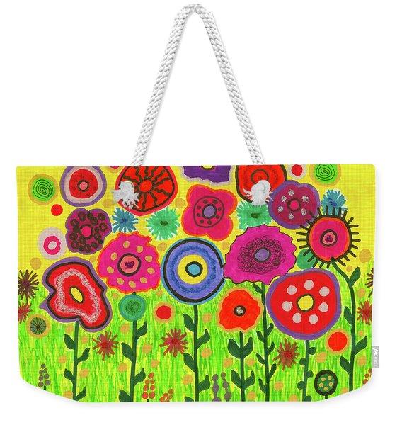 Garden Of Blooming Brilliance Weekender Tote Bag