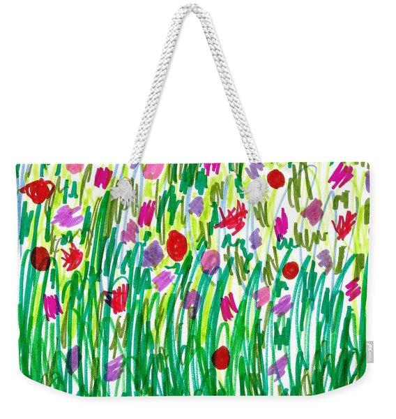 Garden Of Flowers Weekender Tote Bag