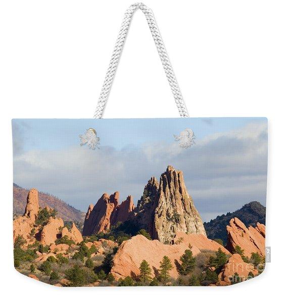 Garden Of The Gods Colorado Springs Weekender Tote Bag