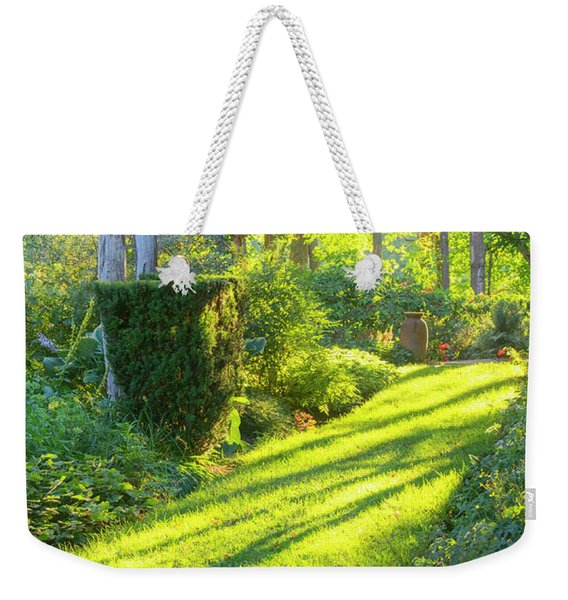 Garden Path Weekender Tote Bag