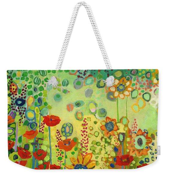 Garden Poetry Weekender Tote Bag