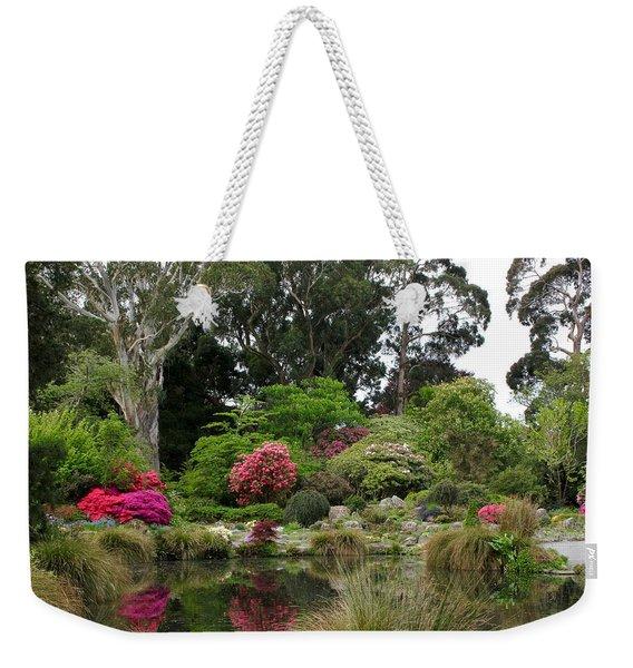 Garden Reflection Weekender Tote Bag