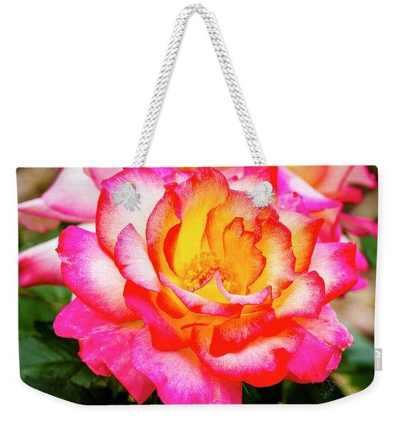 Garden Rose Beauty Weekender Tote Bag
