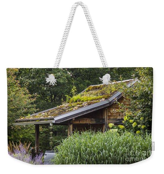 Garden Shed Weekender Tote Bag