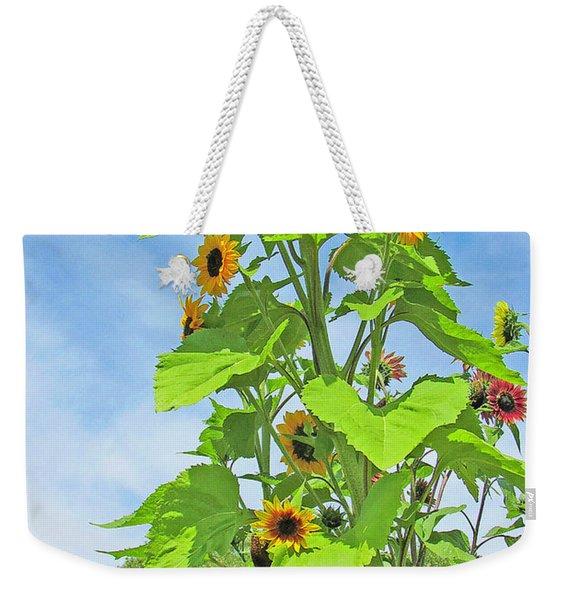 Garden Splendor Weekender Tote Bag