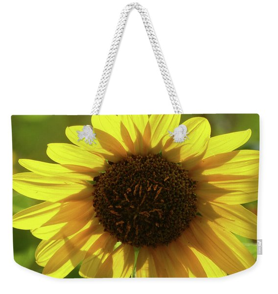 Weekender Tote Bag featuring the photograph Garden Sunshine by Cris Fulton