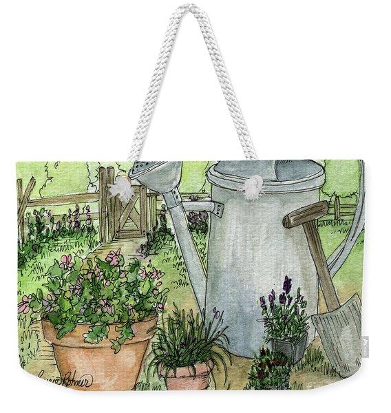 Garden Tools Weekender Tote Bag