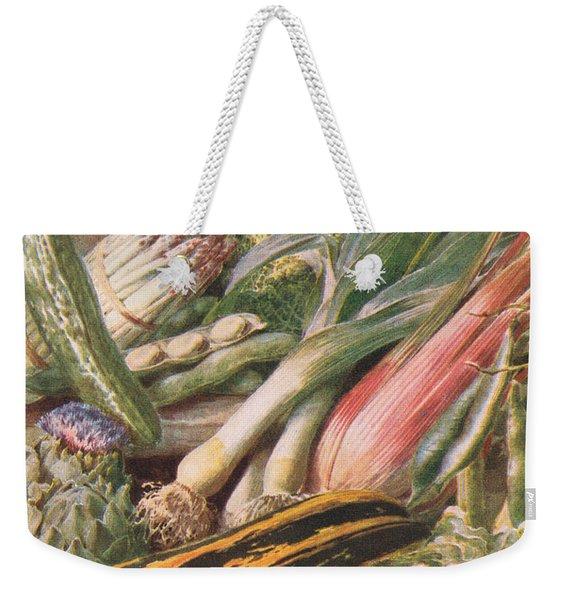 Garden Vegetables Weekender Tote Bag