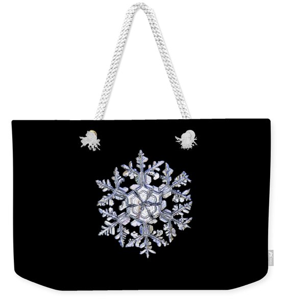 Gardener's Dream, White On Black Version Weekender Tote Bag
