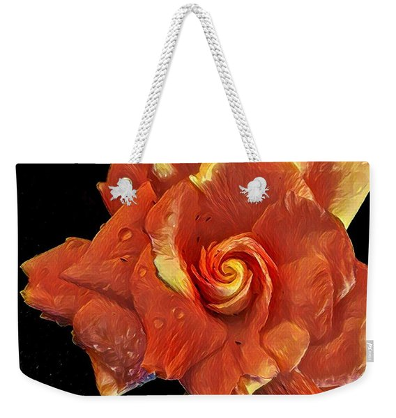 Gardenia For Madam Pele Weekender Tote Bag