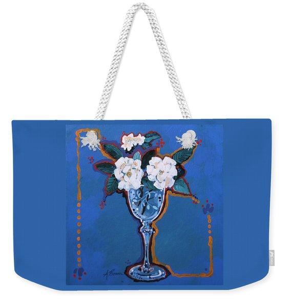 Gardenias Weekender Tote Bag