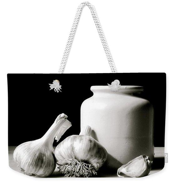 Garlic And Crock Weekender Tote Bag
