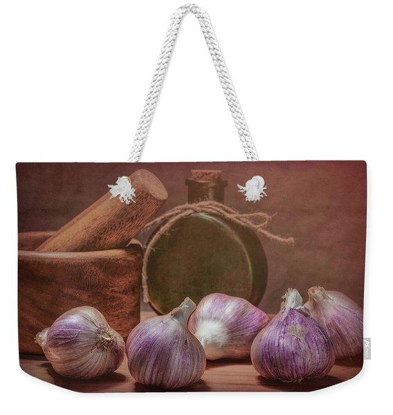 Garlic Bulbs Weekender Tote Bag