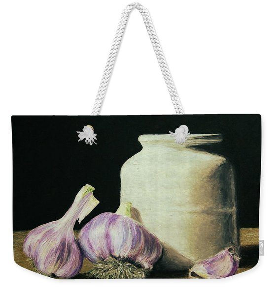Garlic Crock Weekender Tote Bag