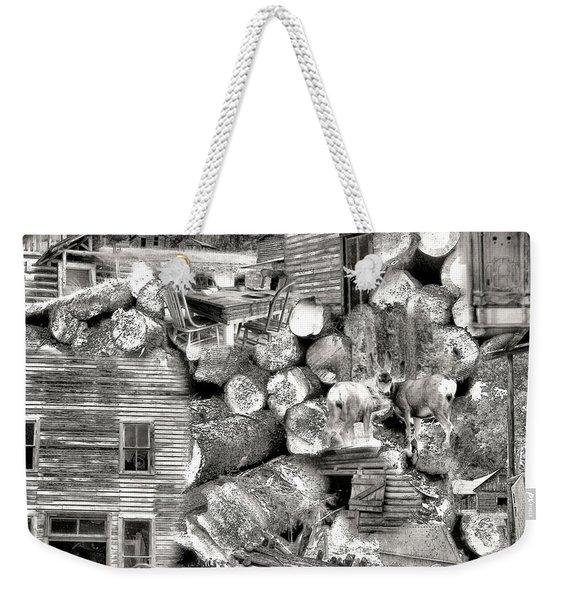 Garnet Montana Weekender Tote Bag