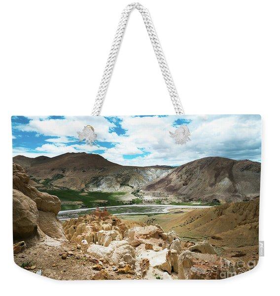 Garuda Valley Tibet Yantra.lv Weekender Tote Bag