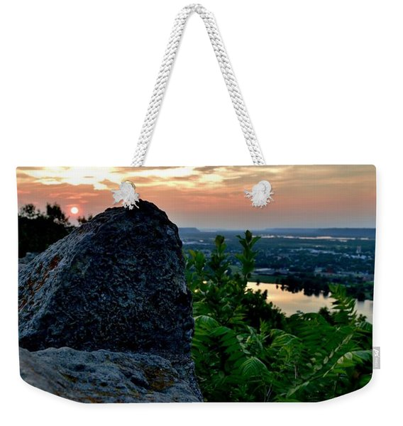 Garvin Heights Sunset Weekender Tote Bag