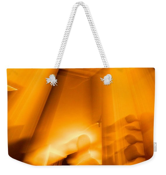 Gate Of The Golden Bass Weekender Tote Bag