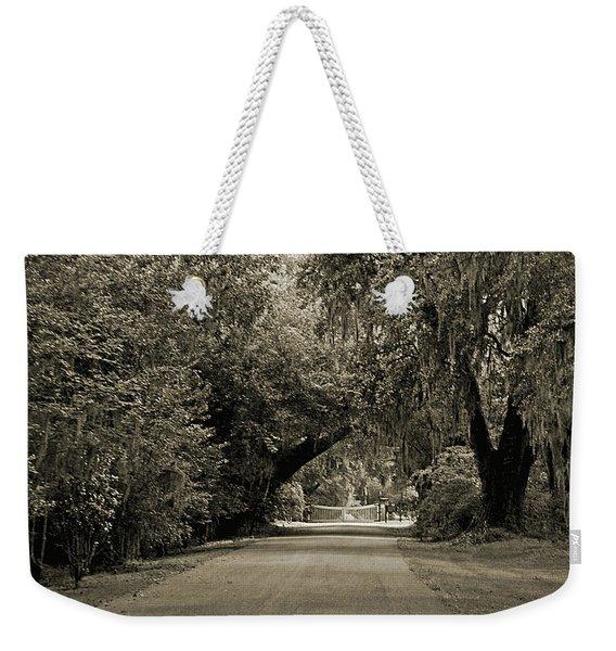 Gate To Magnolia Plantation Weekender Tote Bag