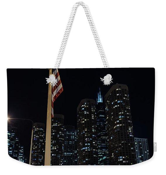 Gate To The West Loop Chicago Weekender Tote Bag