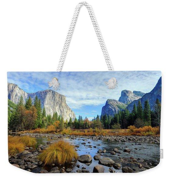 Gates Of The Valley Weekender Tote Bag