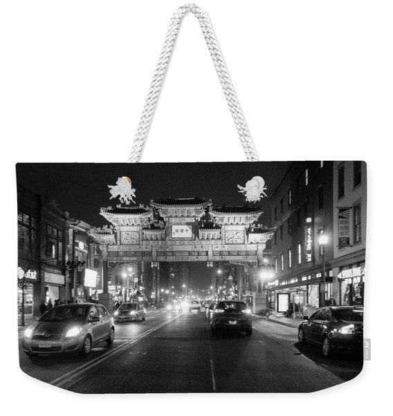 Gateway To Chinatown Weekender Tote Bag