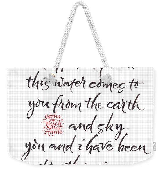Gatha Eight Weekender Tote Bag