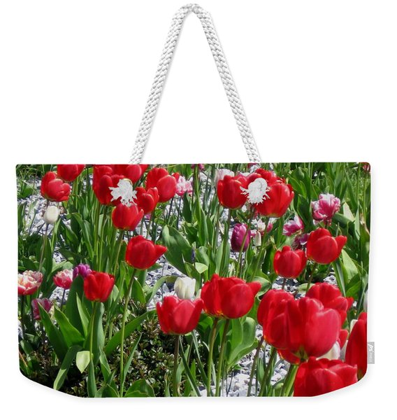Gathering Of Joy Weekender Tote Bag