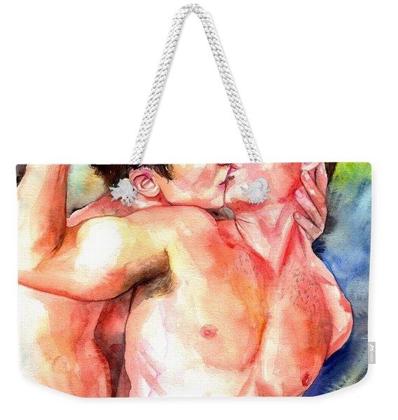 Gay Love Weekender Tote Bag