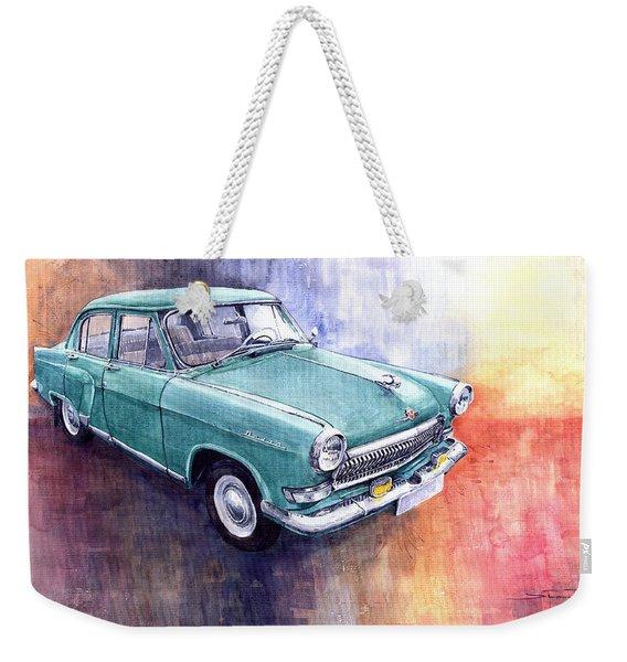 Gaz 21 Volga Weekender Tote Bag