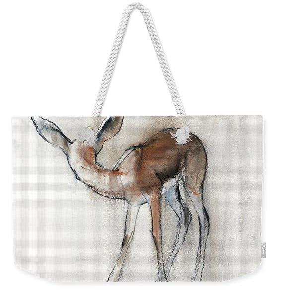 Gazelle Fawn  Arabian Gazelle Weekender Tote Bag