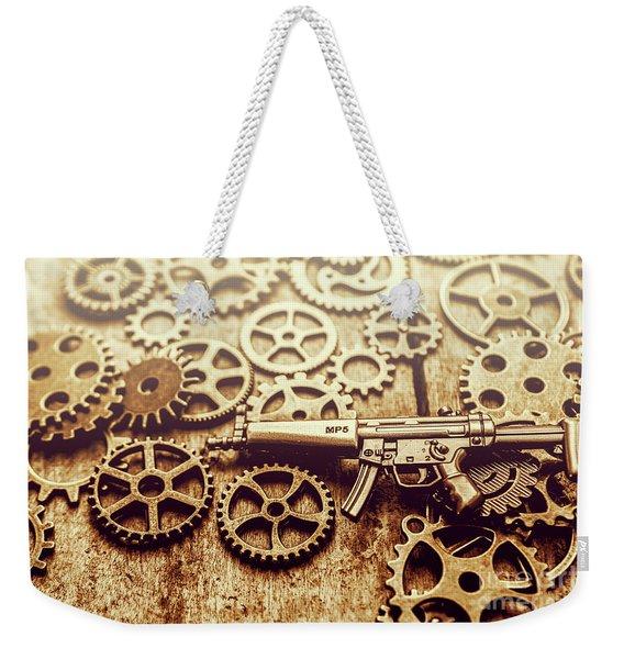 Gear Of Weapon Design Weekender Tote Bag