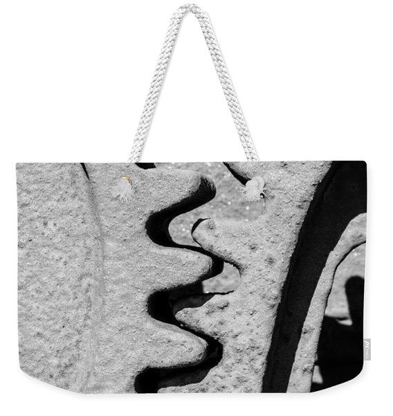 Gear - Zoom, Close Up Weekender Tote Bag