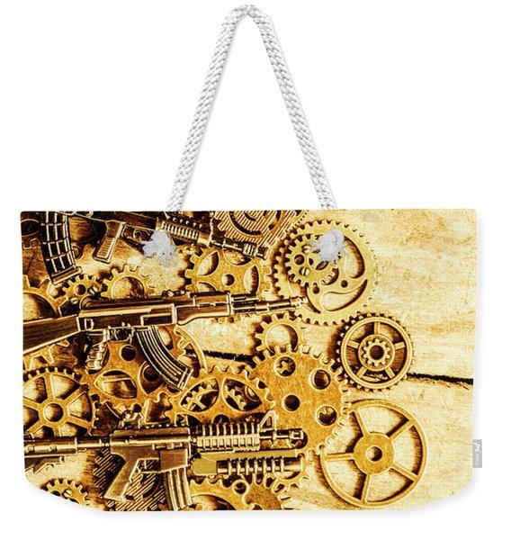 Gearing For War Weekender Tote Bag